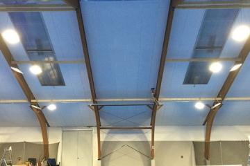 Tennishalle Bruck mit LEDBooster von EcoCan (1)