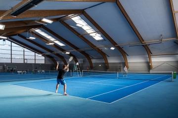 Tennishalle Bruck mit LEDBooster von EcoCan (3)