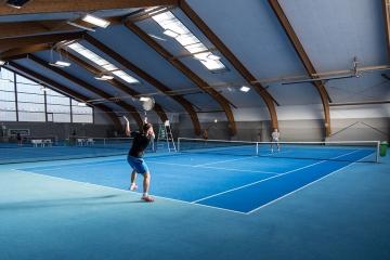 Tennishalle Bruck mit LEDBooster von EcoCan (4)