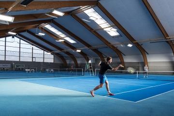Tennishalle Bruck mit LEDBooster von EcoCan (5)