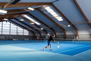 Tennishalle Bruck mit LEDBooster von EcoCan (6)