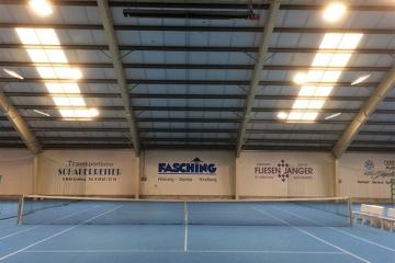 Tennishalle Kindberg mit LEDBooster von EcoCan (1)