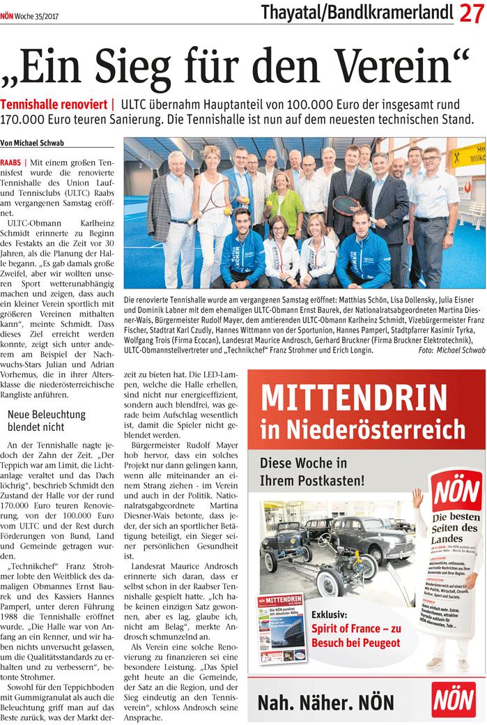 Artikel über EcoCan im Magazin Obersteirische Rundschau 06 2017