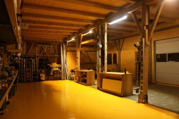 Werkstatt mit Lightbooster